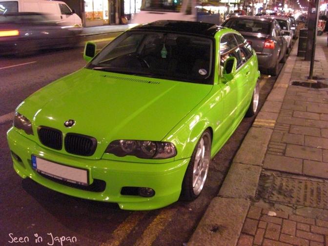 Green E46BMW