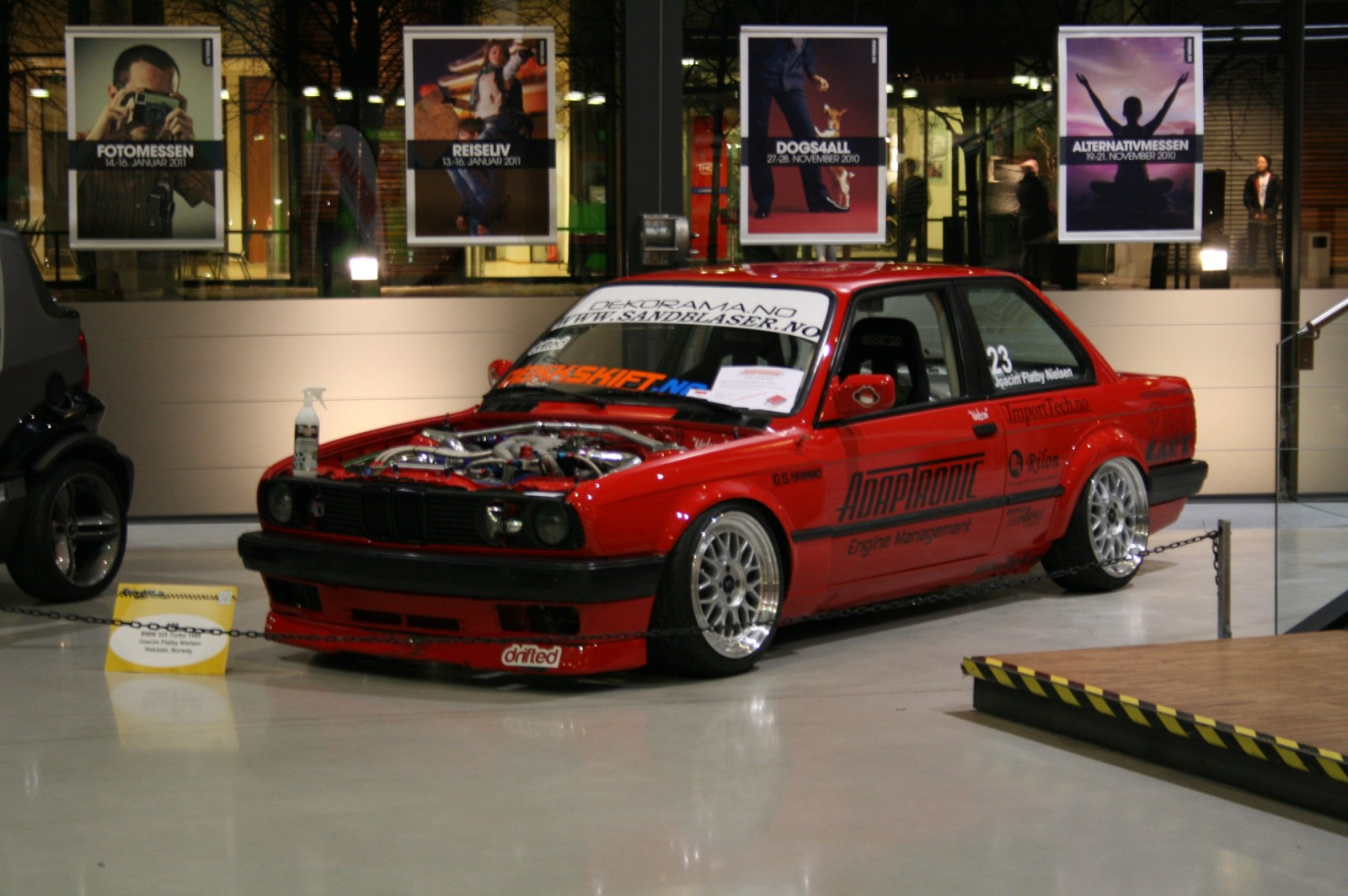 The Red E30 From Norway R32taka