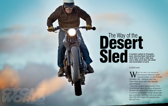 The Way of the Desert Sled