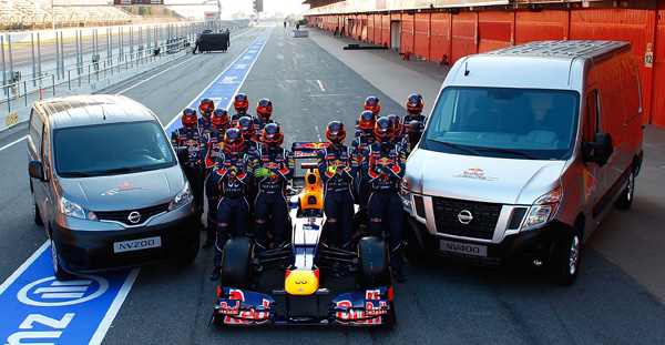 What drives Red Bull Racing