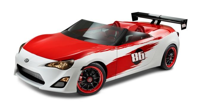 Toyota Racing Introduces Scion FR-S Speedster