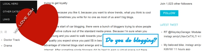 The Big Blog Theory