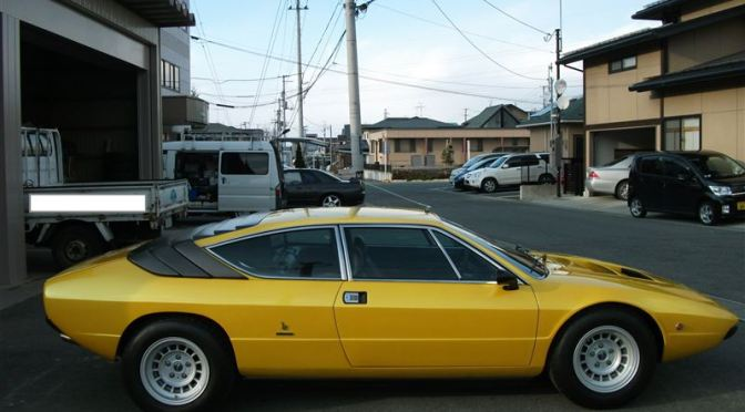 Rare cars in Japan: P250S Lamborghini Urraco 1973