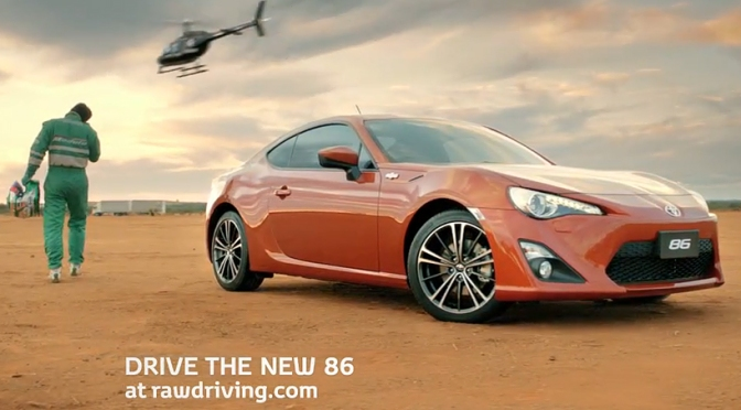 New Toyota 86 Comercial in Australia ^^