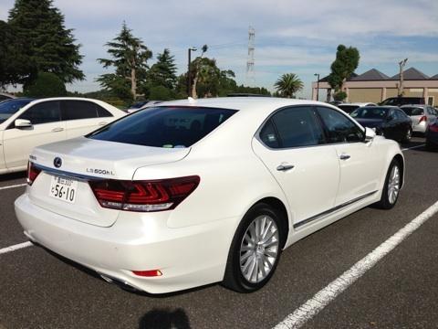 New Toyota Lexus LS600h