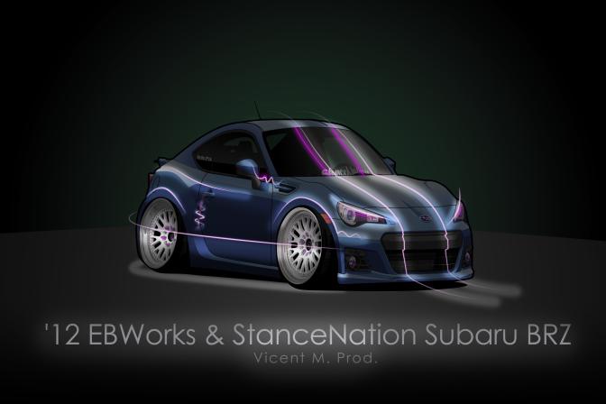 '12 EBWorks & StanceNation Subaru BRZ