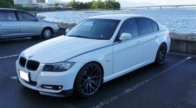 Japanese BMW E90
