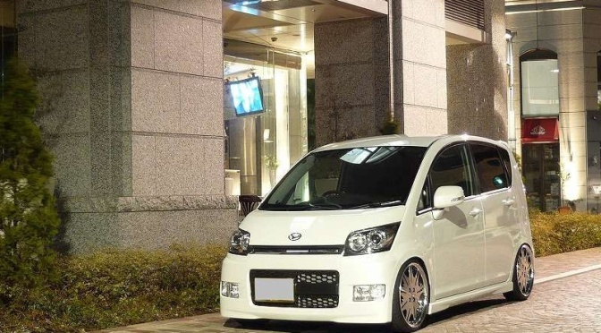Daihatsu Move Custom + Work Varianza D3S