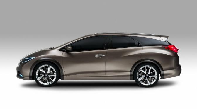 Civic Wagon 2013 revealed