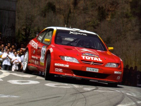 Rally-Catalunya-Costa-Brava-99-Philippe-Bugalski-Citro%C3%ABn-xsara-Kit-Car-