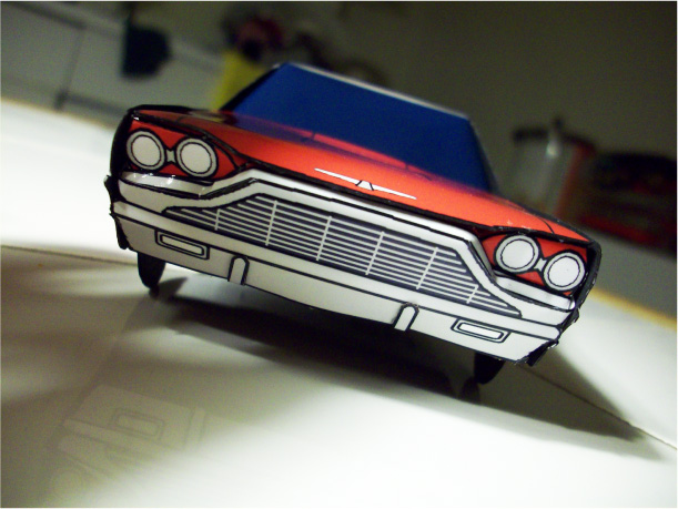 Blog_Paper_Toy_papercraft_Ford_Thunderbird_Jcarwil_pic4