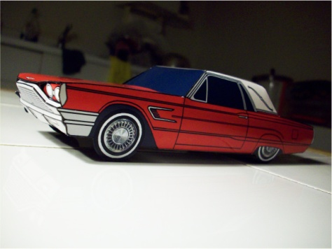 Blog_Paper_Toy_papercraft_Ford_Thunderbird_Jcarwil_pic6