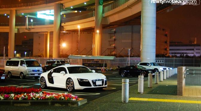 Audi R8 V10 at Daikoku