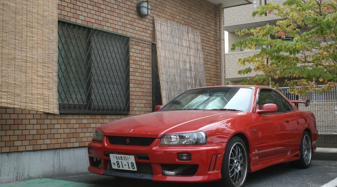 Nismo kitted R34