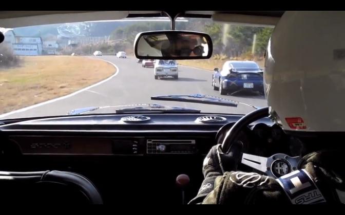 Race in… Alfa Romeo 2000GTV