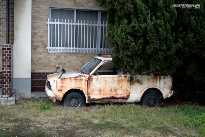 Abandoned Cars: Subaru 600