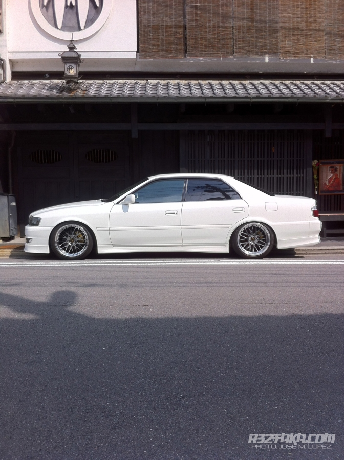 JZX Spot in Fukakusainarionmae, Kyoto.