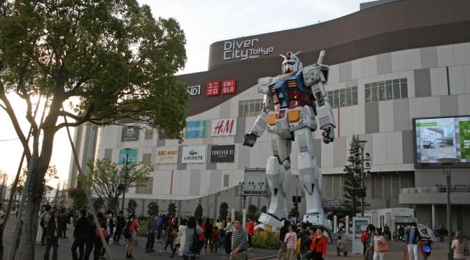 Little visit to Gundam Front Tokyo.