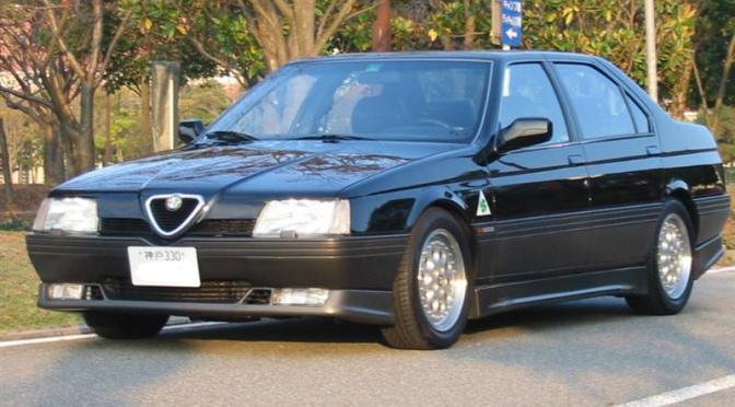 JDM Alfa Romeo 164